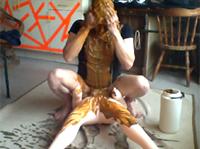 Ich und meine Fickpuppe im Kaviarporno
