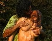 Heißer Messy Sexfilm outdoor