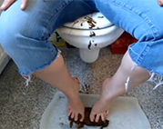 Toilette Schiss deluxe