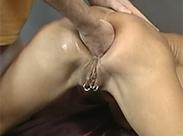 Gepiercte Fotze anal gefistet