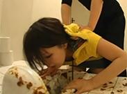 Tochter muss putzen