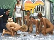 Gruppen Scat unter Lesben
