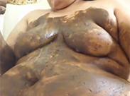 Ekelhafte fette Kaviarschlampe