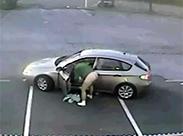 Heimlich auf den Parkplatz scheißen
