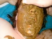 Blasen mit Kacke extrem in der Fresse