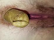 POV die dicke Kackwurst rauspressen