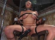 Sklavin beim Einlauf zum Orgasmus gebracht