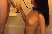 Latex oil porn
