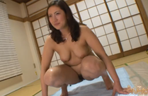 Behaarte Japan Muschi kackt