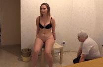 Russischer Toiletten Sklave
